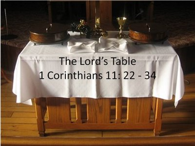 Image result for pictures of lord's table