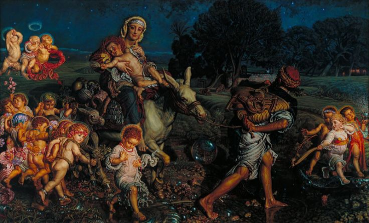 800px-William_Holman_Hunt_-_The_Triumph_of_the_Innocents_-_Google_Art_Project