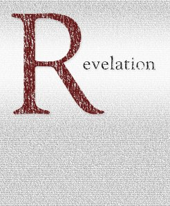 The entire text of Revelation. design by Erik Newby